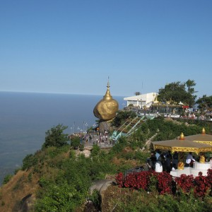 kyaiktiyo golden rock burma