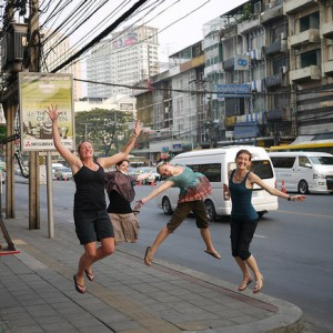 jumping in bangkok