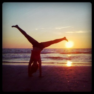 sunset cartwheel indian rocks beach